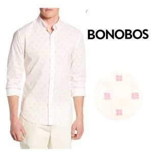 Bonobos Tailored Slim Fit Summerweight Print Shirt